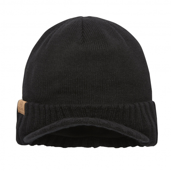 Bonnet Casquette The Rogers Noir- Coal