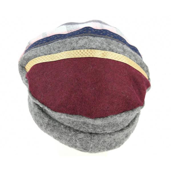 Lakutsk Wool Faux Fur Toque Grey - Mtm