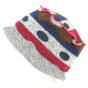 Chapeau Bob Nandy Acrylique Grise- Traclet