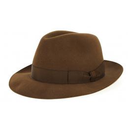 Borsalino Hat Vanzina Red Brown