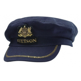 Casquette capitaine Allenport Elbsegler by Stetson