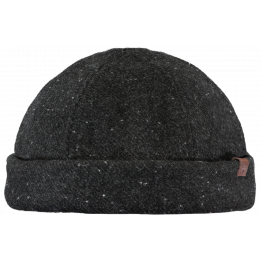 Bonnet Docker Mainz Laine Anthracite- Barts