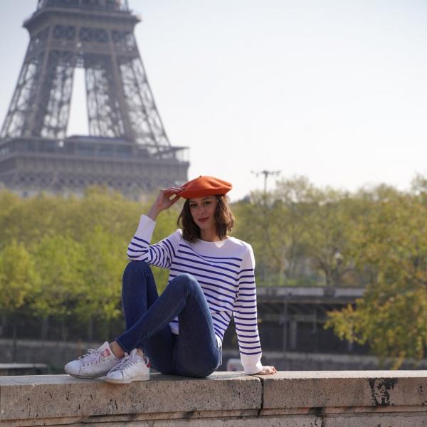 The Classic Pumpkin French Beret- Le Béret Français