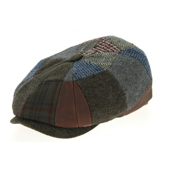 Hatteras Patchwork Check Wool-Stetson Cap