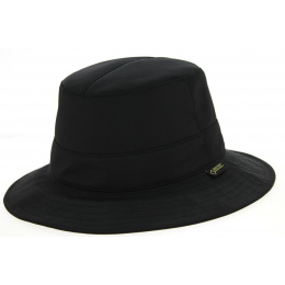 Chapeau Traveller Orinoco Gore-Tex Noir- Hatland