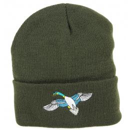 Bonnet de Chasse Broderie Oiseau- Traclet