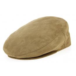 Alcantara ® Flat Cap Camel- Traclet