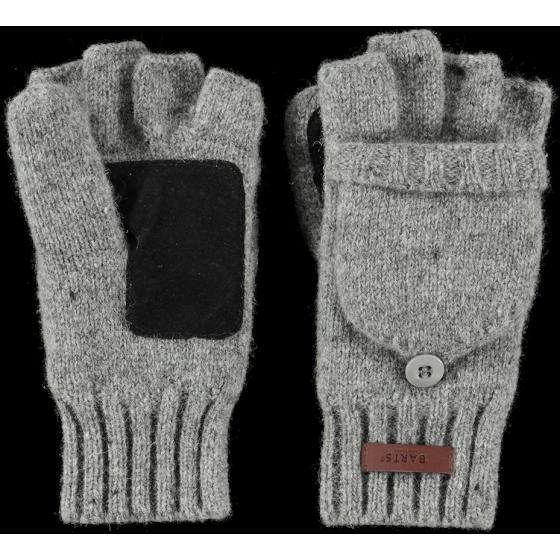 Grey Wool Glove/Mittens - Barts