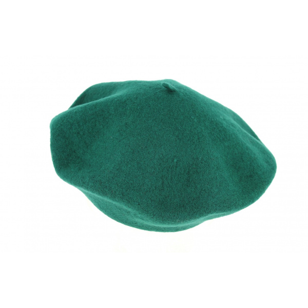 Béret Vert Kaki Laine- Traclet