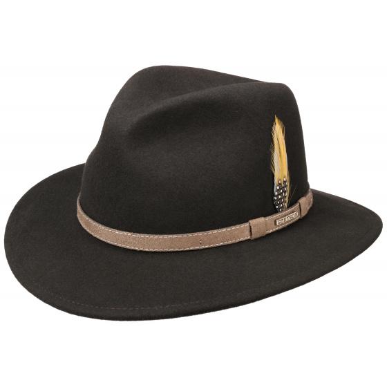 Hammond Stetson brown hat