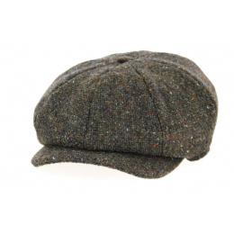 Casquette JP Tweed Laine Marron- Hanna Hats