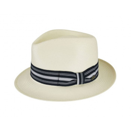 Fedora Tharp Natural Straw Hat - Bailey