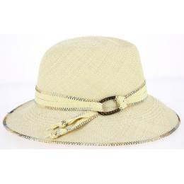 Chapeau Fedora Panama Benita Naturel- Mayser