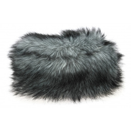 Toque Tenessee Fausse Fourrure Blanche & Noire- Traclet