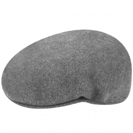 flat cap 504 Winter Anthracite