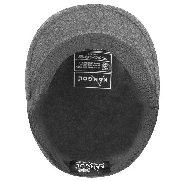 Casquette Plate 504 Hiver Gris Foncé- Kangol