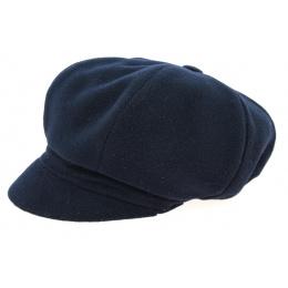 Casquette Gavroche Polaire Jeffi Bleu Marine- Crambes