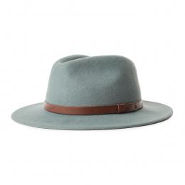 Fedora Messer Hat Wool Felt Cypress - Brixton