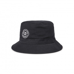 Chapeau Bob Oath Coton Noir- Brixton