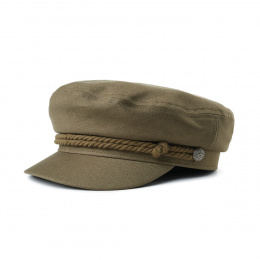 Casquette Marin Fiddler Coton Military Olive- Brixton