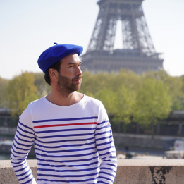 The Classic Royal Blue French Beret- Le Béret Français
