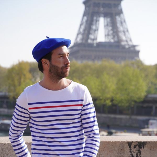 The Classic Royal Blue French Beret- Le Béret Français