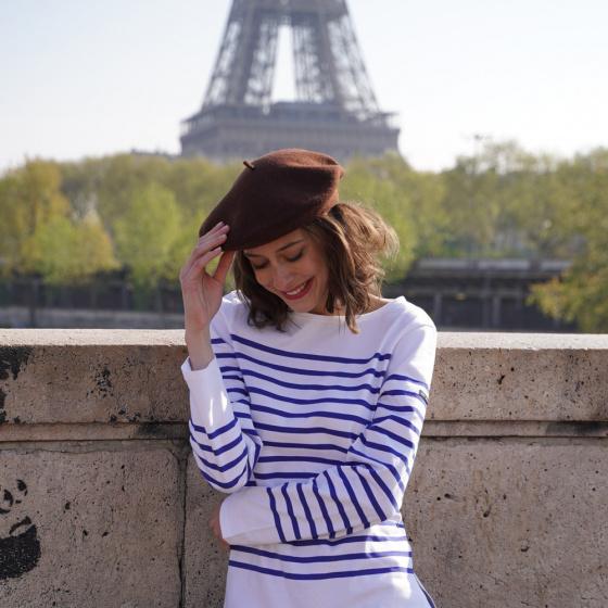 Béret Classique Marron- Le Béret Français