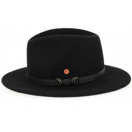Georgia Outdoor Hat Wool Black- Mayser