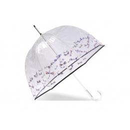 Parapluie Cloche Transparent Fashion Avenue- Isotoner
