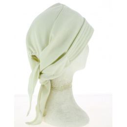 Turban Chemotherapy Scarf Cotton Ecru- Traclet
