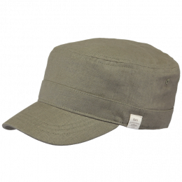 Military Shame Linen & Cotton Army- Barts Cap