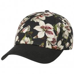 Casquette Baseball Floweries Noire Coton- Barts