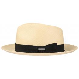 Fedora Panama Hat Natural Straw Straw - Stetson