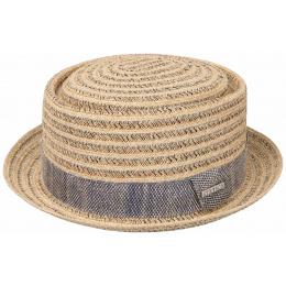 Porkpie Toyo & Natural Viscose Hat - Stetson