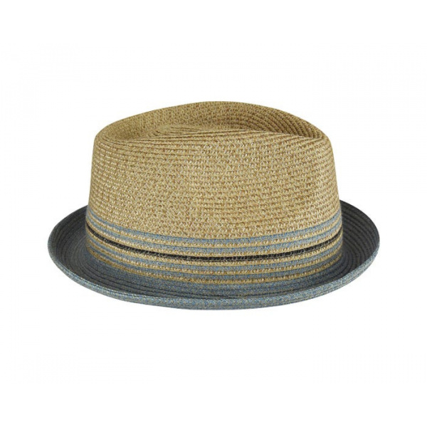 Chapeau Pork Pie Hooper Beige - Bailey