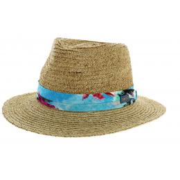 Western Straw Hat Natural Raffia Straw - Stetson
