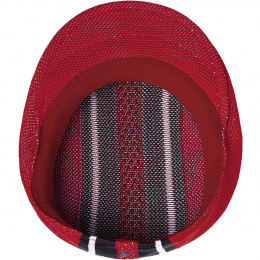 Casquette vented stripe 504 Rouge -  Kangol