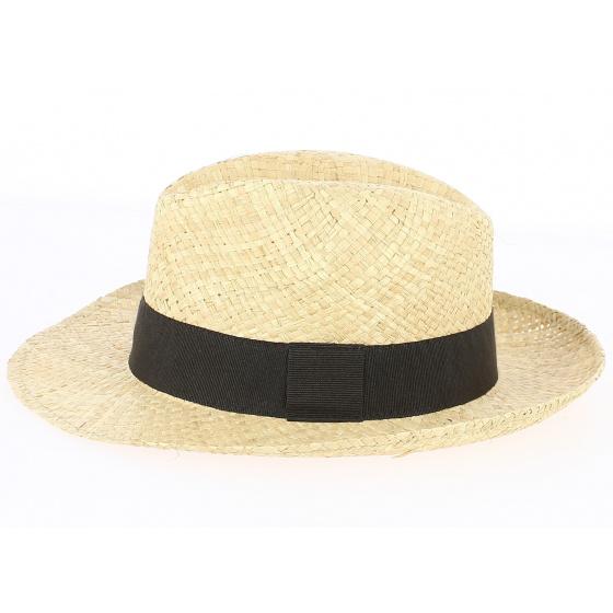 Chapeau Fédora de paille Carpino - Traclet