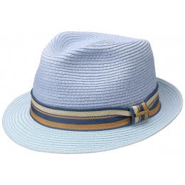 Chapeau Trilby Scriba Toyo Bleu ciel - Stetson