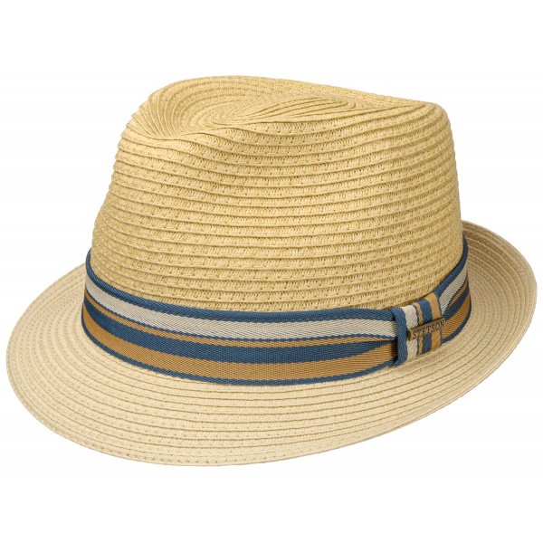 Chapeau Trilby Scriba Toyo beige - Stetson