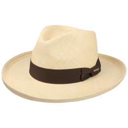 Fedora Panama Hat - Natural Panama Hat - Stetson