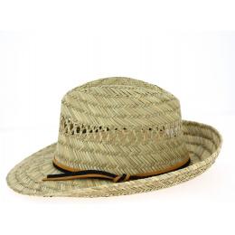 Chapeau Fedora Cefalu Paille Naturelle- Traclet