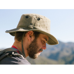 Chapeau Safari Wanderer Globe Trotteur T3 Wanderer Gris- Tilley