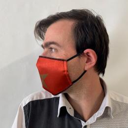 Masque Star Fantaisie Élastique Noir- Traclet
