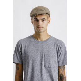 Casquette Hooligan Coton Carreaux Coconut- Brixton