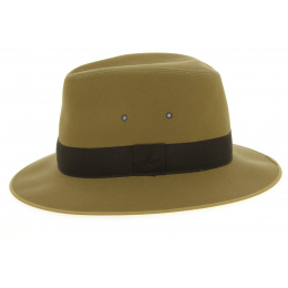 Safari Hat Beige Formed Cotton Fabric - Broswell