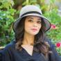 Anna Bell Hat Black & White- Emthunzini Hats