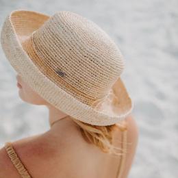 Chapeau Breton Moorea Island Raphia Beach Naturel- Conner Hats