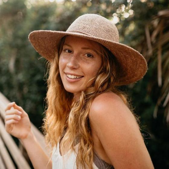 Capeline Kauai Sun Raphia Naturel- Conner Hats