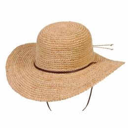 Tuscany Ladies Summer Raphia Natural - Conner Hats